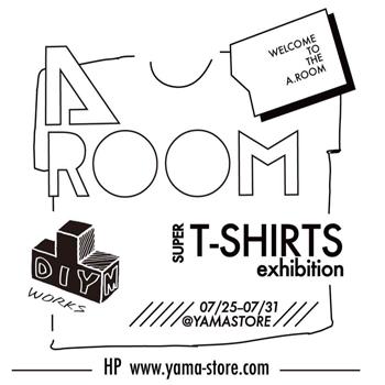 終了しました。7/25~7/31 Tシャツ展 セレクトショップ YAMASTORE(中崎町)