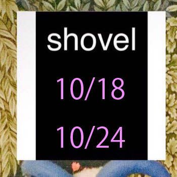 終了しました。10/18~10/24 POP UP SHOP・yes!yes!非非 × hoop × Hande und Stitch@梅田阪急10F『shovel・ショベル』